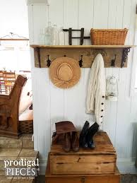 Easy Coat Rack DIY Coat Rack Farmhouse Style Coat Racks Tutorials And 36