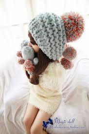 魔法大布娃娃北京青年毛球毛线裸婚时代非常完美同款帽子围巾手套 ...