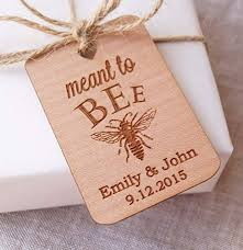 thank you tags for wedding favors amazon com meant to bee wedding favor tags honey favor tags