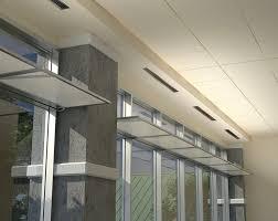 aluminum interior curtain wall light