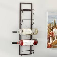 wall mounted wine rack. Charlton Home Leveson Bottle Wall Mounted Wine Rack On