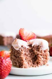 Homemade Strawberry Cake The Recipe Critic