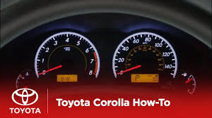 2009 Toyota Camry Tire Pressure Light 2010 Corolla How To Tire Pressure Monitoring System Tpms Toyota
