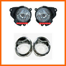 kia headlights fog lights lamp assembly fog lamp cover left right 4p for 06 11 chevy captiva