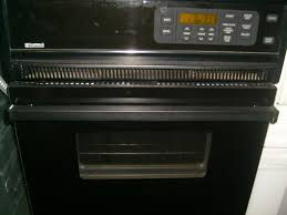 kenmore stove black. kenmore black single wall oven stove