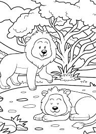 Leeuw Kleurplaat 39 Leuke Leeuwen Kleurplaten Tijd Met Kinderen