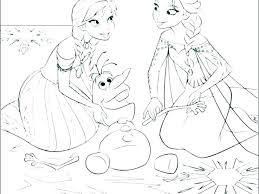 Frozen Princess Coloring Pages Hoteles Madridorg
