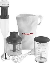 kitchenaid hand mixer. kitchenaid - khb2351wh 3-speed hand mixer white angle_standard kitchenaid