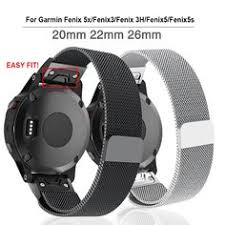 Quick Fit <b>26 22 20MM Watchband</b> Strap for Garmin Fenix 5X 5 5S 3 ...