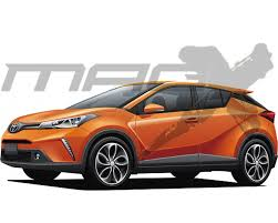 new car launches by toyotaNew Toyota compact SUV to launch by March 2016  Rendering