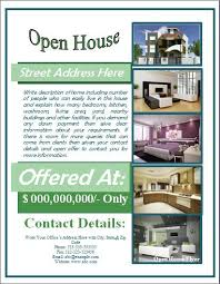 business open house flyer template open house flyer template free for mortgage open house