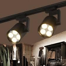 kitchen rail lighting. 2pcs/lot LED Track Light COB 35W Ceiling Rail Lights Spotlight For Kitchen Fixed Clothing Lighting D