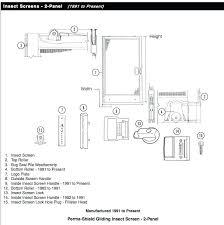 andersen sliding patio door parts screen door lock white com door lock replacement parts patio door