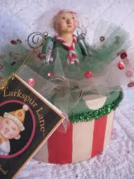larkspur lane silvestri fairy gift box ornament figure hang lcm ebay