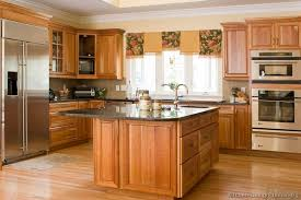 Small Picture I like this combo medium golden cabinets with lighter wood floor