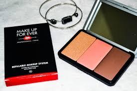makeup forever artist face color palette