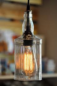 hanging pendant bottle light lamp
