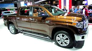 2016 toyota tundra 1794 edition exterior and interior walkaround 2016 la auto show