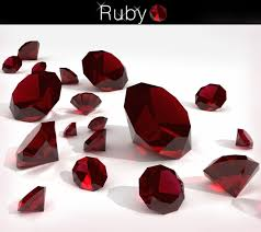 Ruby Gemstone Color Chart Birthstone Colors Chart