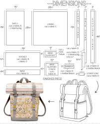 Backpack Sewing Pattern