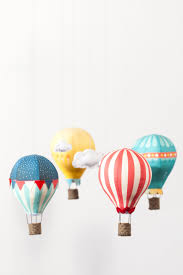 diy kit circus themed hot air balloon mobile pattern via craftschmaft on
