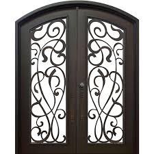 allure iron doors windows 74 in x 82 in eyebrow st lucie
