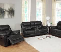 granger dark gray console faux leather