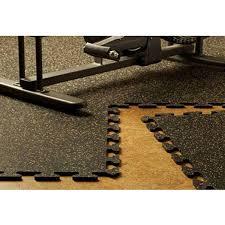 Interlocking Rubber Floor Tiles Kitchen Ez Flex Interlocking Recycled Rubber Floor Tiles