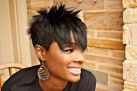moreover 20 Cute Short Haircuts for Black Women   Short Hairstyles also 30 Spiky Short Haircuts   Short Hairstyles 2016   2017   Most likewise  as well 30 Spiky Short Haircuts   Short Hairstyles 2016   2017   Most additionally 72 Short Hairstyles for Black Women with Images  2017 furthermore Easy Short Hairstyles for Black Women   Short Hairstyles 2016 also 25 Pictures Of Short Hairstyles for Black Women   Short Hairstyles also Best 25  Black short haircuts ideas on Pinterest   Short black together with  besides Short Spiky Hairstyles For Black Women Over. on black hair short spiky haircuts