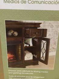 costco 1049034 bayside furnishings electric fireplace 65 a