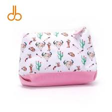 2019 triangle arrow boots makeup bag whole blanks canvas cactus bullskull cosmetic bags wedding accesories case