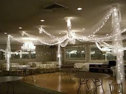 lighting decorations for weddings. Dance-Floor Tulle Draping With Lights Lighting Decorations For Weddings