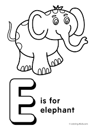 Small Picture Letter E coloring pages alphabet coloring pages E letter words