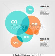 Infographic Venn Diagram Bubble Chart With Elements Venn Diagram Infographics For Three Circle Design Vector And Marketing Can Be Used For Workflow Layout Annual Report Web