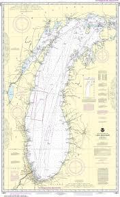 Noaa Nautical Chart 14901 Lake Michigan Mercator Projection