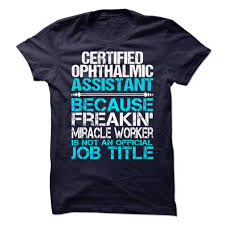 Certified Ophthalmic Assistant