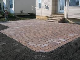 square paver patio. Fine Paver Square Paver Patio  Completed Project Harvest Blend Village Square In A  Random Pattern And Paver Patio
