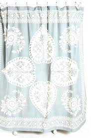 coastal shower curtains collection seashell curtain living palm c