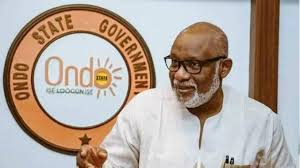 Gov Akeredolu takes a swipe at APC leadership for his suspension