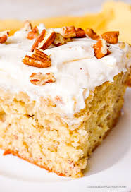 Banana Cake With Cream Cheese Frosting Gonna Want Seconds