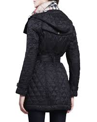 Burberry Finsbridge Hooded Quilted Jacket | Neiman Marcus & Finsbridge Hooded Quilted Jacket Adamdwight.com