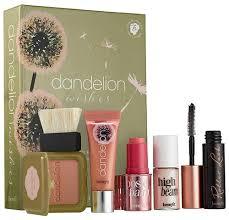2016 makeup gift sets benefit cosmetics dandelion wishes baby pink makeup set