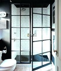 black framed windows and doors steel micro trend metal shower black framed windows and doors
