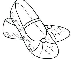 shoe coloring book air pages shoes