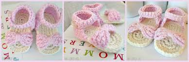 Crochet Baby Sandals Pattern Magnificent Crochet Baby Sandals