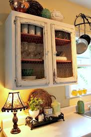 Shelf Cabinet With Doors 133 Best Images About Add Chicken Wire On Pinterest Refurbished