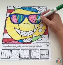 Small Picture Emoji coloring pages for kids from Art with Jenny K Teachers know