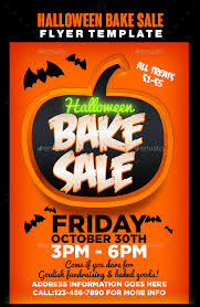 halloween sale flyer halloween bake sale flyer template flyers commonpence co ianswer
