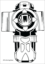 Power Rangers Megazord Coloring Pages Power Rangers Color Pages