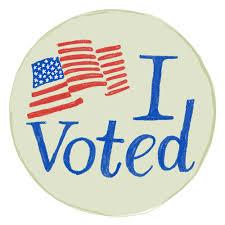 "Image result for ""I voted"""